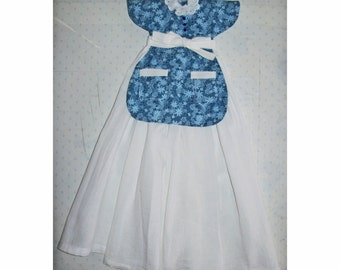 Dress Dish Towel CRAFT PATTERN Apron front style PDF e-pattern