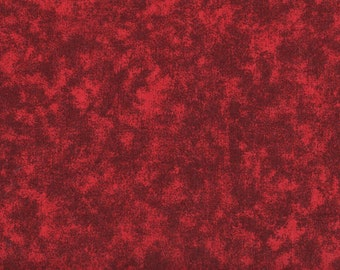 Fat Quarter, Red Fabric, Red Blenders, Quilter's Blenders Dark Red Fabric, 01591
