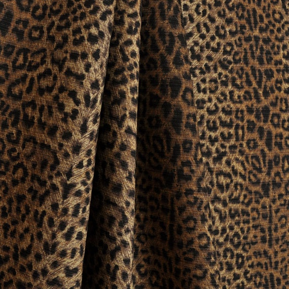 Upholstery Fabric By The Yard Cheetah Earth P By