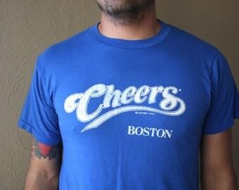 Vintage 1987 Cheers Boston Tee Shirt