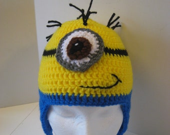 Adult sized Despicable Me Minions Hat