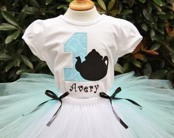 Alice in ONEderland teapot shirt