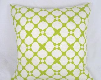 Kravet - Jonathan Adler - Decorative Pillow Cushion Cover - Accent Pillow - Throw Pillow  - Santa Rosa - Lime