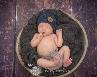 boys hat, newborn boy hat, baby hat, baby boy hat, crochet baby hat, baby boys hat