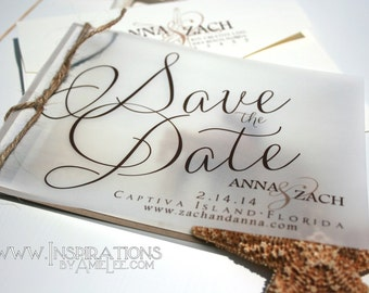 Save The Date, Wedding Invitations
