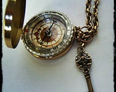 "Fully Functional 3"" Brass compass, Steampunk, Nautical, Father's day, Graduation gift, Groomsmen gift, costume, cosplay, Burning Man"