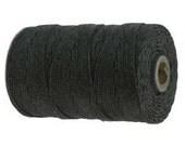 10 Yards - Charcoal - Irish Waxed Linen, 4 ply
