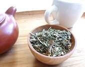 Herbal Tea- liver tonic, gift, loose tea, herbal tea, holy basil, lemongrass, Lemon Balm, Ginger Root, spicy tea, warm tea, winter tea