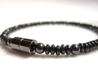 Magnetic Hematite Bracelet - Magnetic Therapy Bracelet