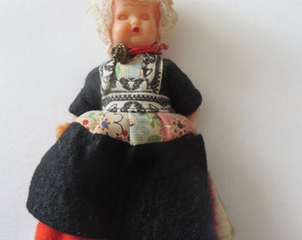 Vintage Dutch Doll