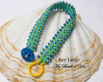 SuperDuo Beadwoven Bracelet, Beadwork Bracelet, Cuff Bracelet, Seed Bead Bracelet, Beadwoven Jewelry, Embellished Bracelet, Beaded Jewelry