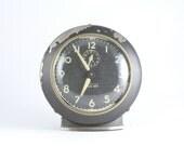 50's Vintage Clock, Baby Ben Clock, Table Clock, Mid-Century Clock