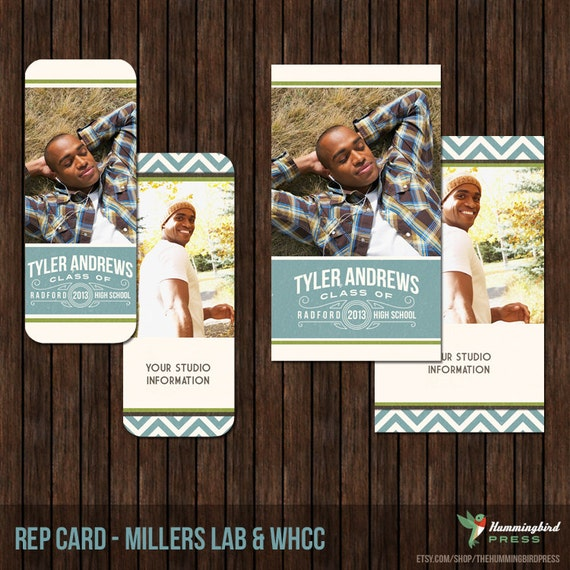 Senior Rep Card Template, Referral Card - Millers and WHCC - R6