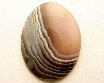 Botswana Agate Oval Cabochon 30 x 40 mm