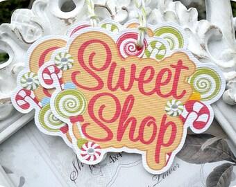 Sweet Shop Christmas Tags - Set of 6