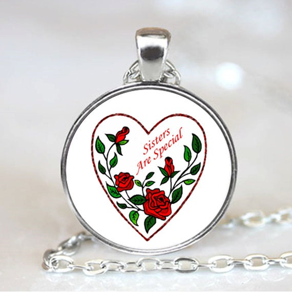 Sisters Are Special  Necklace Pendant (PD0422)