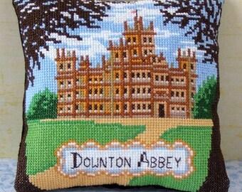 A Visit to Downton Abbey Mini Cushion Cross Stitch Kit