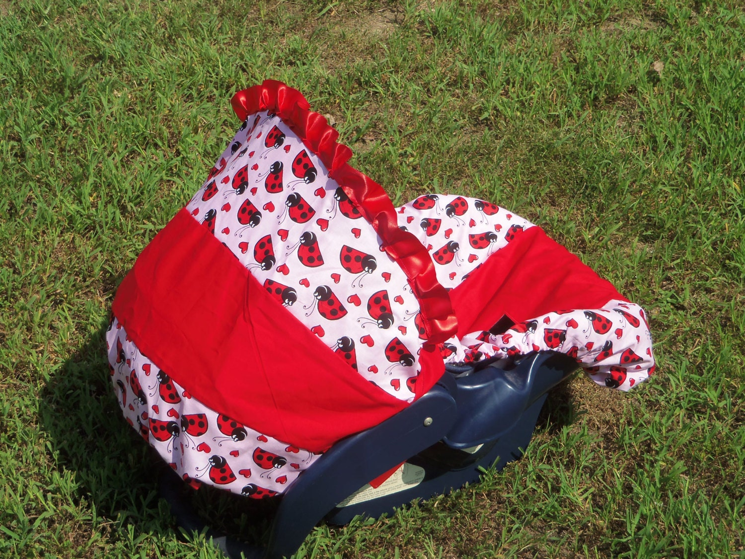 Ladybug Baby Car Seat Cover Infant Seat Cover By