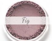 """Eyeshadow Sample - """"Fig"""" - matte purple brown - Mineral Eye Shadow (Vegan) Natural Makeup Eye Color Pigment"""