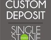 Custom Wall Decal Deposit on Etsy