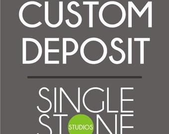 Custom Wall Decal Deposit