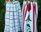 Kitchen Towel Set -  Set of Two -  All Cotton
