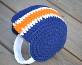 Crochet Pattern for Crocheted Football Helmet