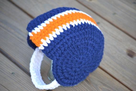 Free Crochet Pattern For Football Helmet Hat Manet For