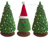Amigurumi Crochet  and Knitting Pattern - Christmas Tree New Year pattern (Instant Download) by Zabelina