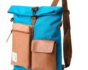 Slander City  Backpack Backpack (Turquoise)