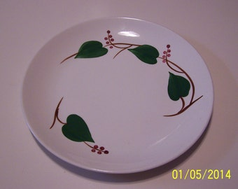 Blue Ridge Southern Potteries, Inc. Stanhome Plate