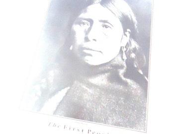 Poster of Lummi Woman/First People/Home Decor/School Decor