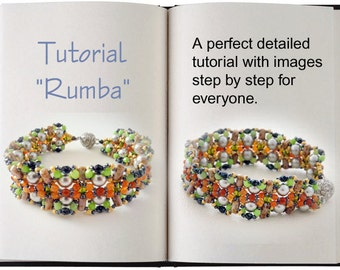 Jewelry Tutorial.... Rumba... Bracelet