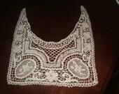 Delicate crochet collar