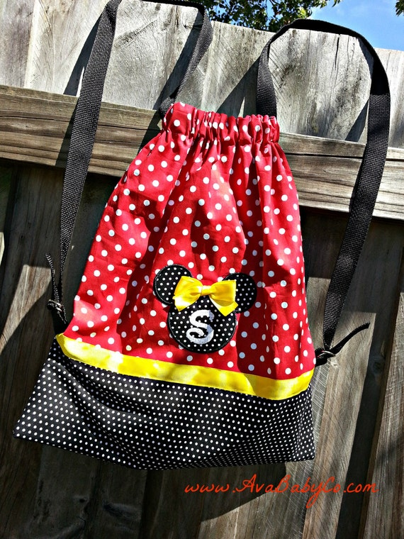 Minnie Mouse Diaper Bag Personalized Disney Re...