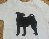 Pug Dog Baby Outfit