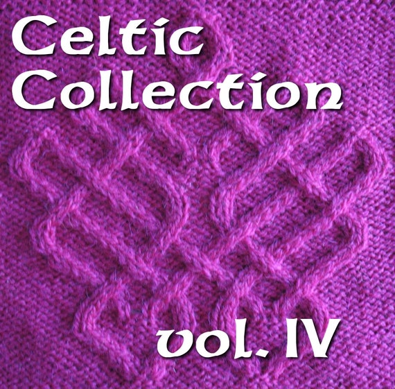 Celtic Knot Knitting Pattern Book : Celtic Knots for knitting vol. 4