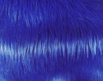 Half Yard Blue Shag