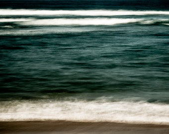 Beach Fine Art Photography - Modern Ocean Wall Art - South Africa  Surreal Color Photography