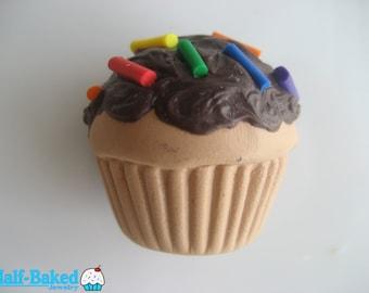 Chocolate Cupcake Magnet