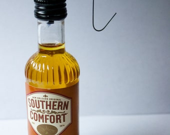Southern Comfort Ornament-- SoCo Whiskey Liqueur Themed Christmas Tree Ornament.