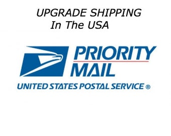 Priority Mail Upgrade Shipping Add on