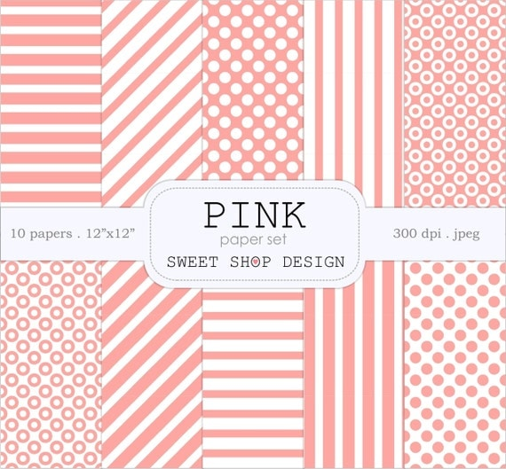 Printable Scrapbook Paper Pack