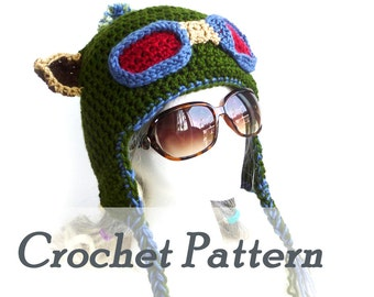 Crochet Pattern Instant Download Teemo hat Earflap hat League of Legends Scout hat Detailed Beginner Instructions Hat pattern