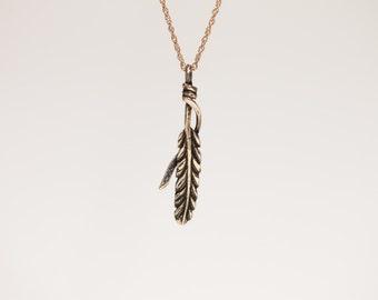 Feather Pendant  PN:TB1-001