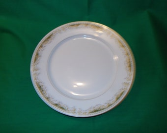 """Two (2), 10 1/4"""" Dinner Plates, from Signature Collection, in the Queen Anne 113 Pattern."""