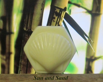 Sun and Sand - Organic Solid Lotion Bar  - 100% Natural Large 4 oz.