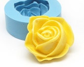Large Rose Flower 32mm Flower Mold Rose Mold Flower Cabochon Rose Cabochon Mold Silicone Mold Flexible Mold Resin Mold 365L* BEST QUALITY
