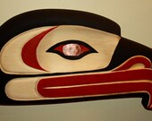 Westcoast First Nations Eagle Plaque