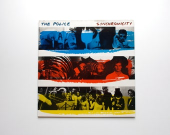 Synchronicity LP by The Police - Police Record